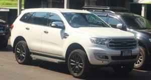 เปิดตัวปีนี้ Ford Everest 2018 ใหม่ รุ่นไมเนอร์เชนจ์ โผล่ขับทดสอบกับ Ranger Limited และ Wildtrak