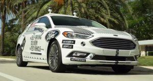Ford ร่วมกับ Domino's Pizza ทดสอบส่งพิซซ่าโดยรถขับเคลื่อนอัตโนมัติ ในไมอามี่