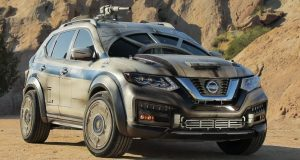 2018 Nissan X-Trail (Rogue) ตกแต่งในแบบยานอวกาศ Millennium Falcon จาก Star Wars