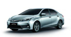 เปิดตัว 2018 Toyota Altis รุ่น 1.8S ใหม่ และรุ่น 1.8V พร้อม T-Connect Telematics