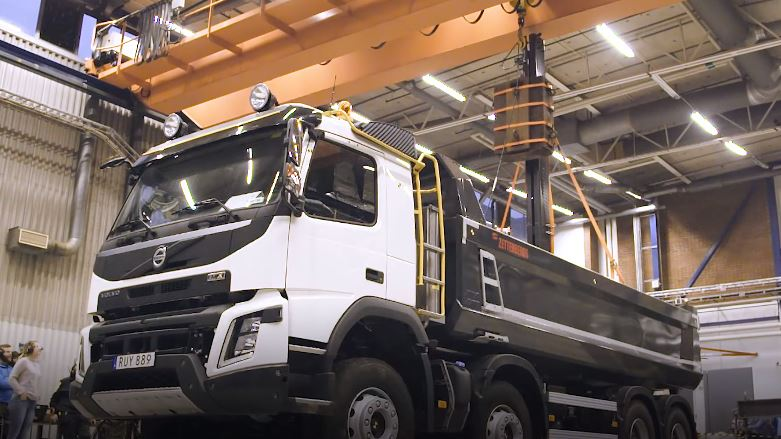 Volvo FMX 2018