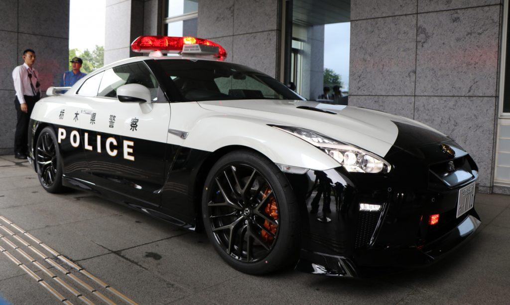 2018 Nissan GT-R Police Car