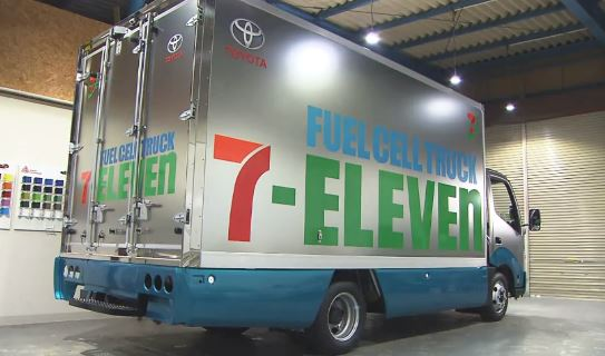 7-11 fuel cell truck