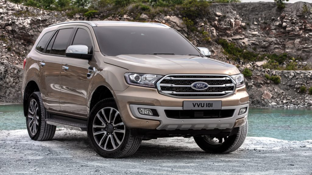 Ford Everest 2018 Thailand