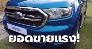 ยอดขายรถกระบะ Ford Mitsubishi พุ่ง Toyota ตามติด Isuzu ยังครองแชมป์