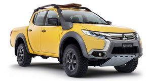 Mitsubishi Triton Ralliart สมรรถนะสูง คู่แข่ง Ford Ranger Raptor