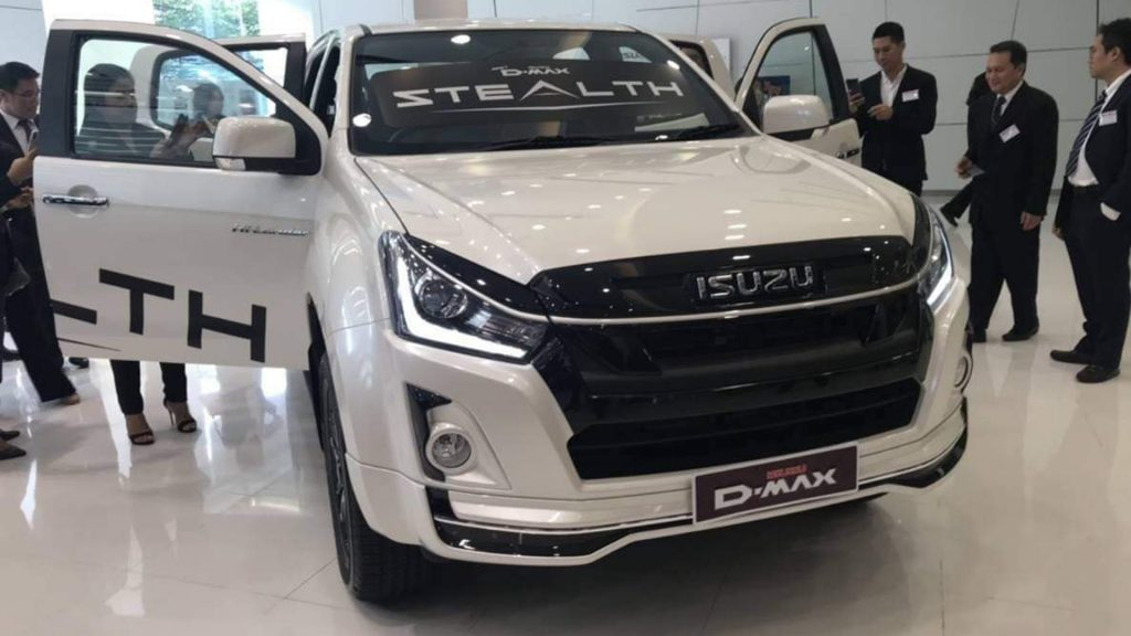 isuzu dmax 2019