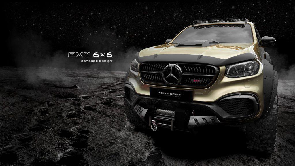 Mercedes-Benz X-Class Exy 6×6 Concept