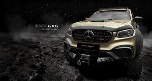 รถกระบะ 6 ล้อ Mercedes-Benz X-Class EXY 6X6 Concept โดย Carlex Design