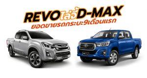 9 อันดับ ยอดขายรถกระบะปิกอัพสูงสุดของไทย ประจำเดือนกันยายน และ 9 เดือนแรกปี 2018