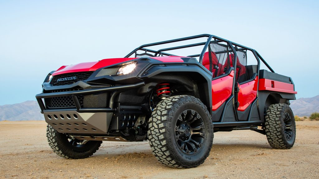Honda Rugged Open Air Vehicle concep