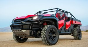 Honda Rugged Open Air Vehicle concep รถต้นแบบ Ridgeline ผสม Pioneer 1000