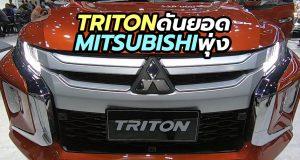 ยอดขาย Mitsubishi Triton และ Pajero Sport Elite Edition