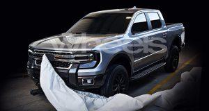 ภาพแอบถ่าย All-New Ford Ranger 2020 – 2021 โฉมใหม่ รถต้นแบบดินน้ำมัน