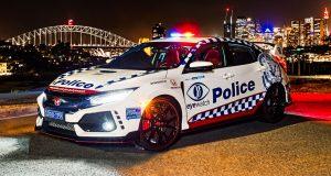Honda Civic Type R 2019 306 แรงม้า รถลาดตระเวณของตำรวจออสเตรเลีย