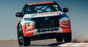 รถกระบะซิ่ง 2019 Mitsubishi Triton SuperUTE ลงแข่งในรายการ 2019 SuperUTE Series